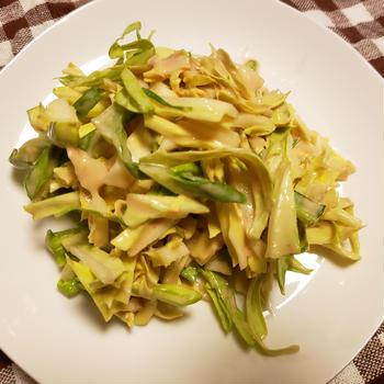 キャベツサラダ~「三食ごはん 海辺の牧場編」の料理です♪