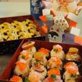 ひな祭りにも*お重入り一口手まり寿司*