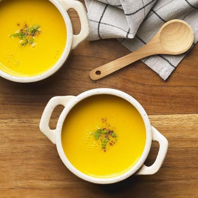 かぼちゃの豆乳クリームスープ