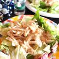 <鶏ささみの棒々鶏風サラダ>