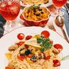 イタリアン野菜たっぷりのレモンオイルパスタ