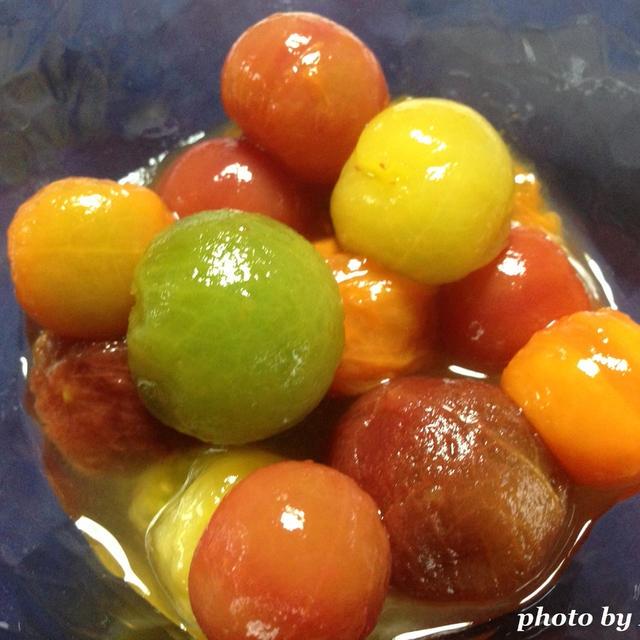 カラフルトマトのマリネ