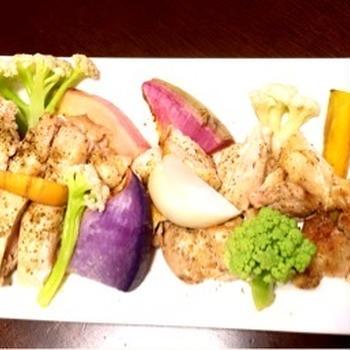 鎌倉野菜とチキンのグリル