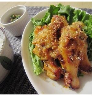 しっとり味噌とマヨが絡み合う♪鶏の手羽元×味噌マヨ焼き。