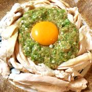 スタミナ足りてる?夢中で楽しむ柔らか蒸し鶏のオクラぽん酢サラダ(糖質10.9g)