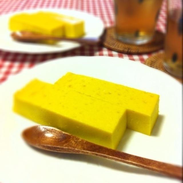簡単☆かぼちゃのチーズケーキ