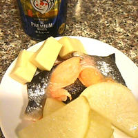 鮭と大根のごま豆乳煮