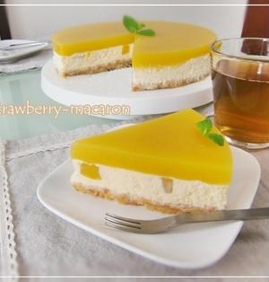 マンゴーNYチーズケーキ