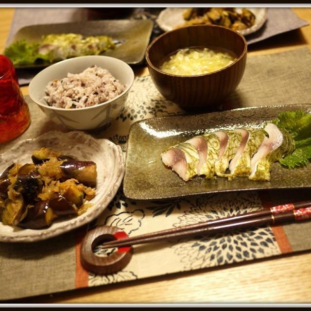 しめサバとかカレーとか横浜観光とか。Mackerel and curry and ......