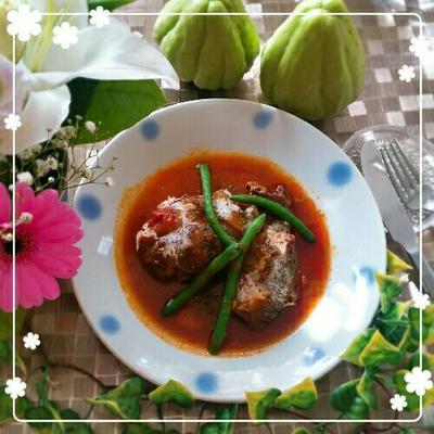煮込みものがおいしい季節✿牛すねトマト煮込み&なんだか似てる~