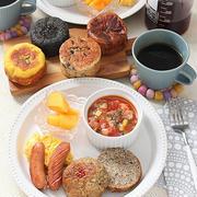 ミネストローネスープで朝ごはん