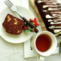 ♡トリプルチョコde作る♪濃厚チョコ&バナナパウンドケーキの作り方【~リプトンひらめき朝食~】 by yumi♪さん