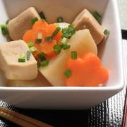 かぶと高野豆腐のシンプル煮☆