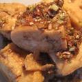 揚げ豆腐のレモングラス炒め
