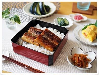 ちょっと早いけど鰻でスタミナ和食ごはん。