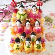 雛祭りに!可愛い♥︎雛壇ちらし寿司
