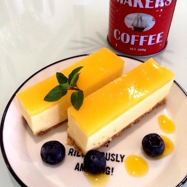 マンゴームースケーキ♡レシピ有り