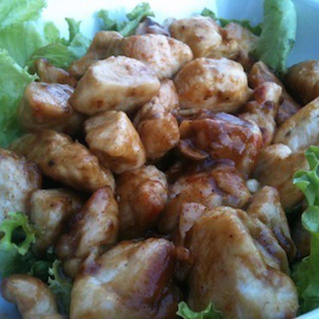 鶏胸肉のソテー・バルサミコ風味