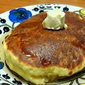 ふんわり厚焼きホットケーキ。 by ゆうさん