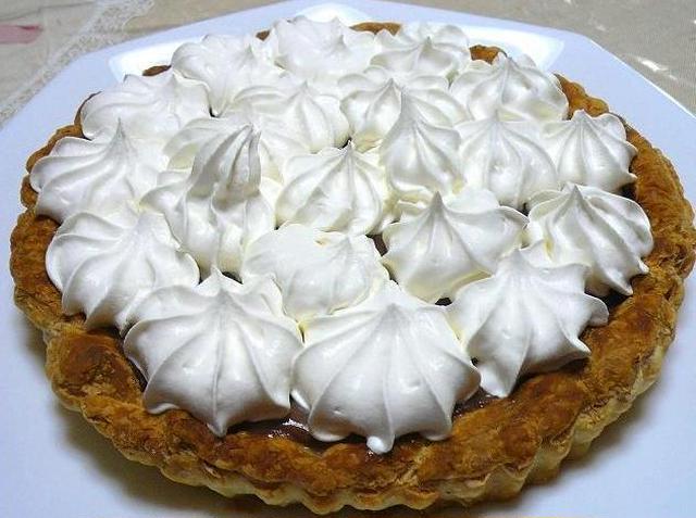 3. Chocolate Haupia Pie(チョコレートハウピアパイ)