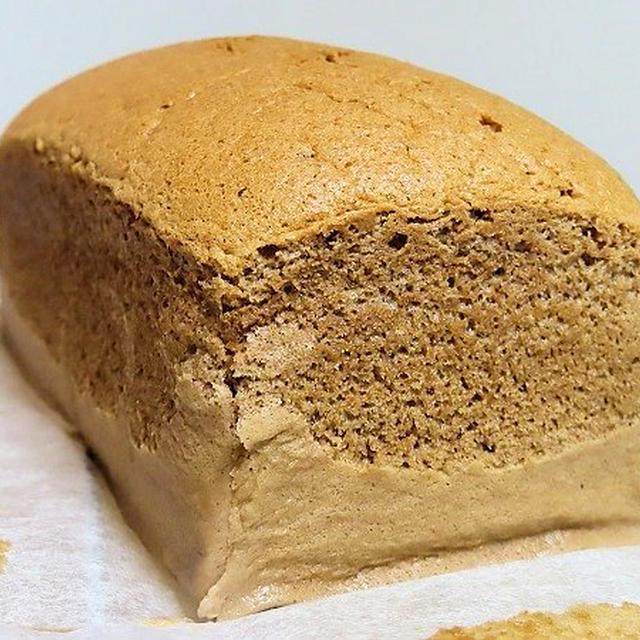 米粉で台湾カステラ、調整ココアも入れてチョコ風味にしてみました