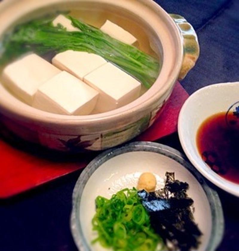 寒い夜は手軽に♪ヘルシーな「湯豆腐」であったまろう
