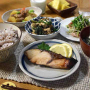 【ぶりの柚子胡椒漬け】#漬け焼き#作り置き#魚料理#簡単 …練習再開!練習後の晩ごはん。