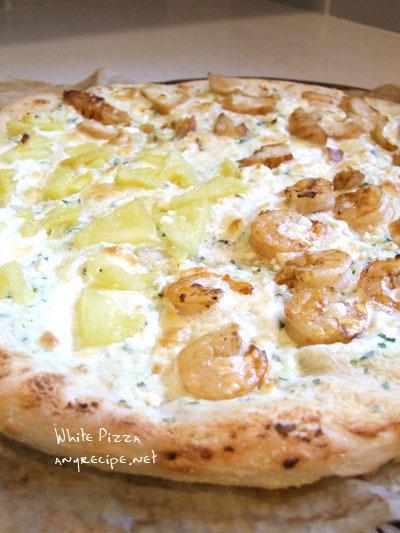 白いピザです/ 好きな時間