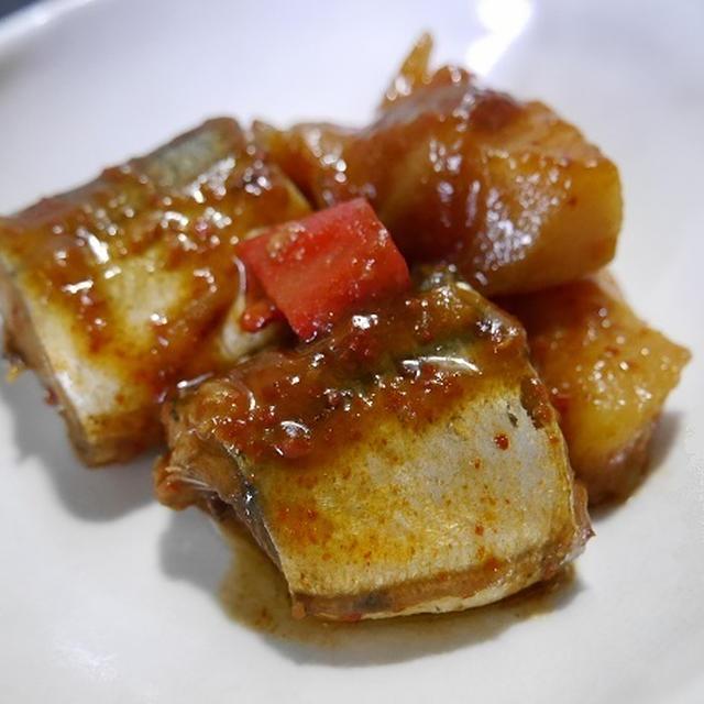 ★ さんまの韓国炊き