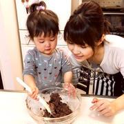 2歳児と!初めてのバレンタインレポ♡