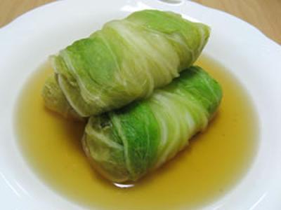 「ロール白菜」 和風ですよ~