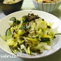 白菜使い切りレシピ!さっぱり梅こぶ茶和え