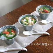 トマトすいとんスープで朝ごはん