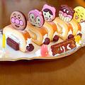 アンパンマンのロールケーキ