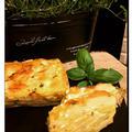 シンプルにじゃがいもとフレッシュバジルのガトーインビジブル・ブルーベーリーレアーチーズケーキ♪♪ by pentaさん
