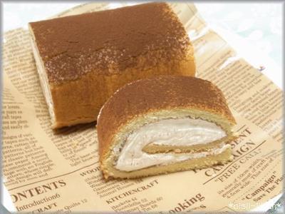 ティラミスがロールケーキに!!ティラミスロール★