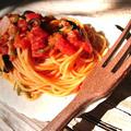 トマトクリームパスタ(フライパンだけで簡単)