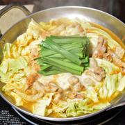 【ヤマキだし部】キムチチーズもつ鍋。キムチとチーズと和風だしの相性抜群鍋。