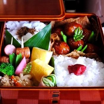 ◆蓮根肉団子弁当と、あたしリカちゃん。