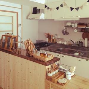 料理の時間をもっと楽しく♪「カフェ風キッチン」インテリア集