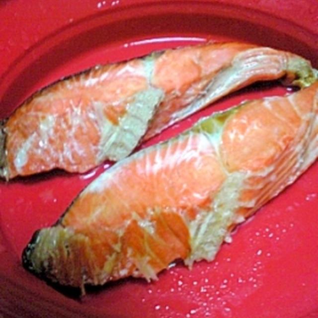 レンジでチンde楽チン☆焼き鮭風