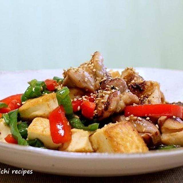 塩麹で「鶏と豆腐の甘味噌炒め」&「春雨入り肉野菜炒め」