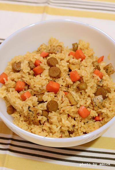 10月27日 金曜日 根菜のピリ辛混ぜごはん