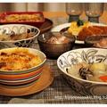 北欧食器づくしでグラタンとポトフの日。