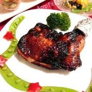 ★ノンオイル★クリスマスパーティーレシピ★定番ローストチキンの簡単な作り方★