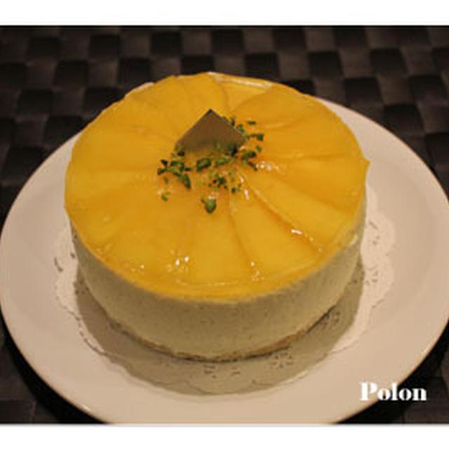 ブログ3周年ありがとうございますm(__)m~マンゴーのレアチーズ☆