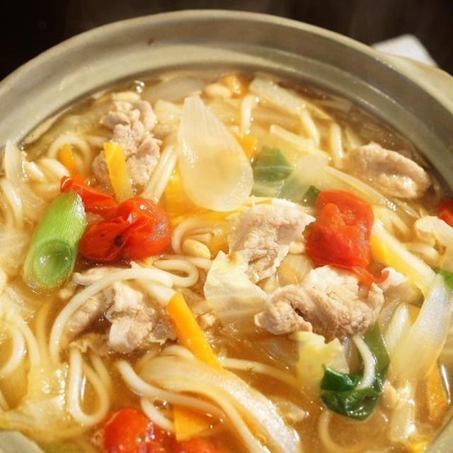 ■麺類・晩ご飯【鍋焼きうどん】