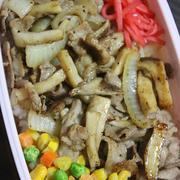 3月8日  鶏肉の スパイシー炒め弁当