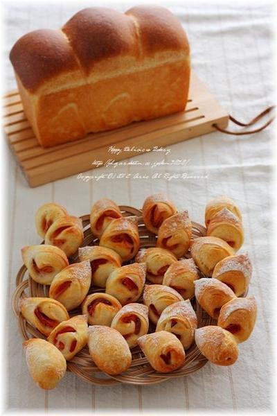 お土産パン2種。