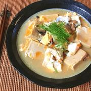 それいけ極潤。椎茸白だしオイスターの高野豆腐卵とじ(糖質5.4g)